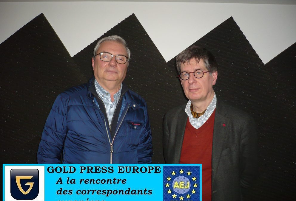 Interviewed: Jean-Pierre Stroobants on Radio Gold