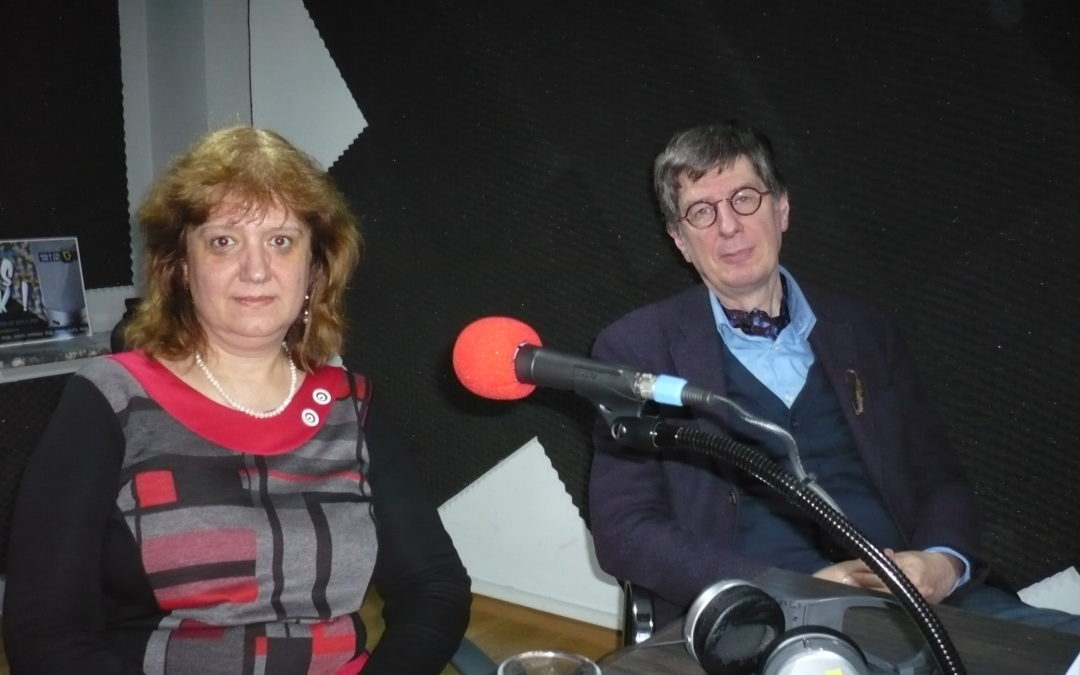 Interviewed: Anguélina Délova Piskova-Indjova on Radio Gold