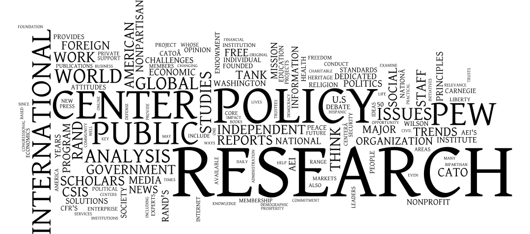 The Best of the European Think Tanks