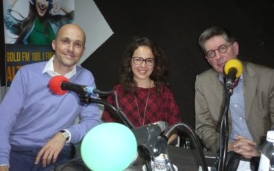 Interviewed: Oliver Grimm on Radio Gold