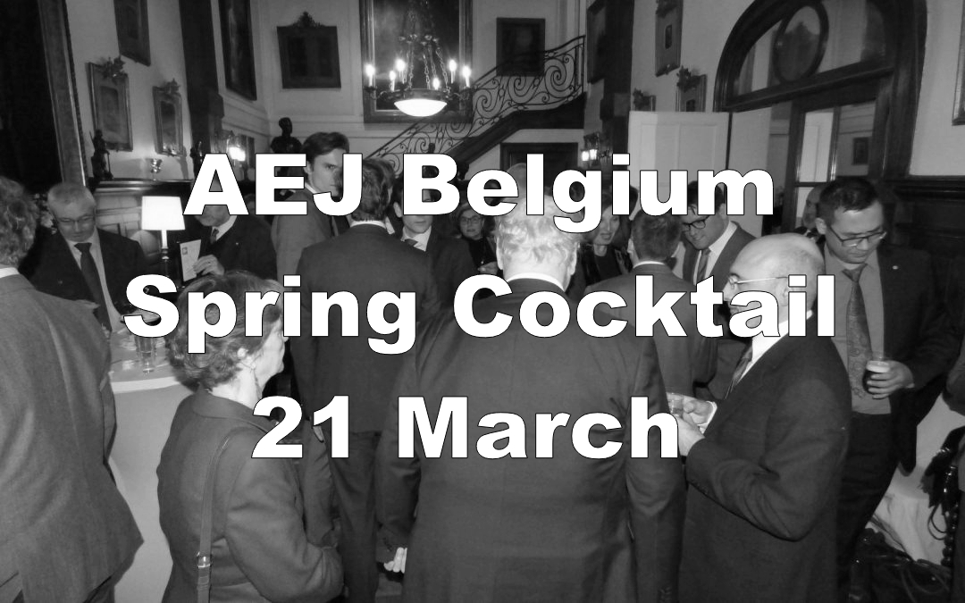 SAVE THE DATE! 21 March Spring Cocktail with Jaume Duch Guillot, spokesperson of the European Parliament
