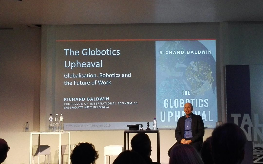 The Globotics (globalisation + robotics) upheaval won't lead to mass unemployment