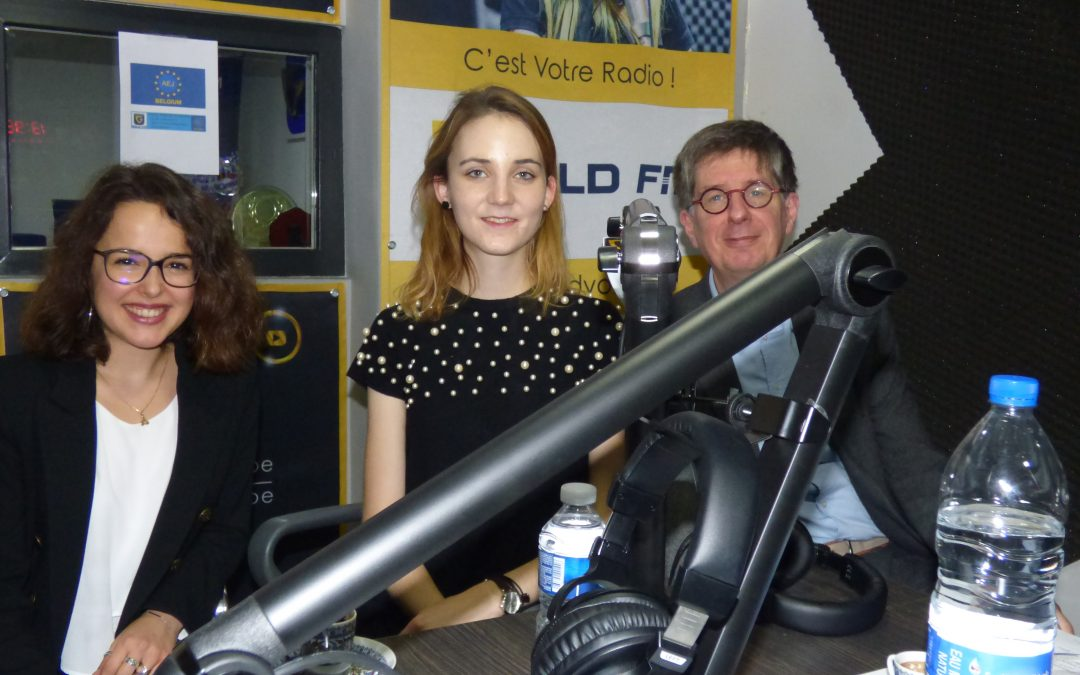 Interviewed: Anna Hubert on Radio Gold