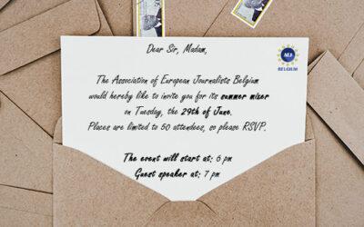 NETWORKING EVENT AEJ-PRESSCLUB 6-8PM JUNE29