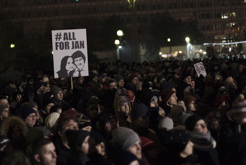 AEJ-Slovak section appalled by the acquittal of 2 main persons involved in the murder of Slovak investigative journalist Jan Kuciak